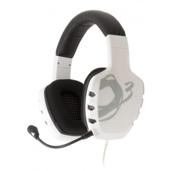 Ozone Ακουστικά Rage ST Άσπρα