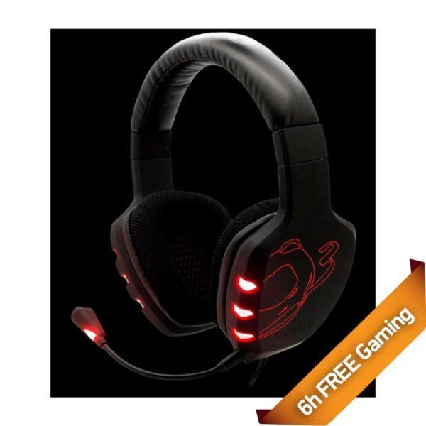 Ozone Headphone Rage 7HX 7.1
